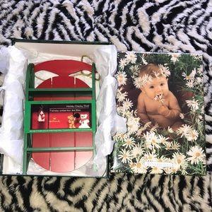 Hallmark vintage sled 🛷 display shelf New
